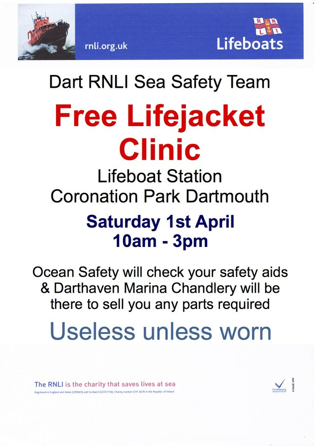 RNLI Lifeboat Clinic