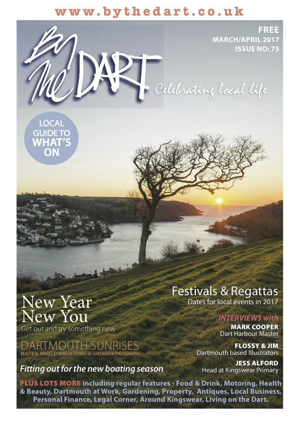 By The Dart March 2017 issue
