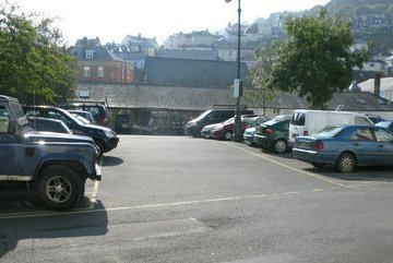 Car parking in Dartmouth