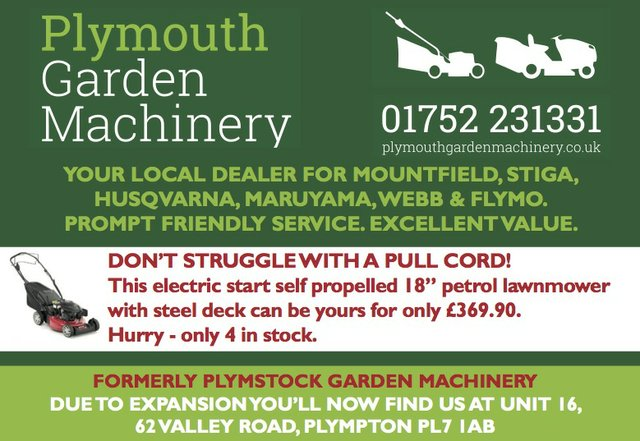 Plymouth Garden MAchinery
