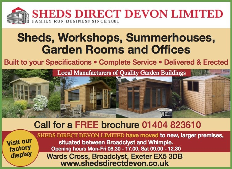 sheds direct devon by the dart