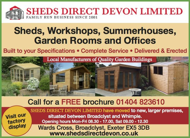 sheds direct devon