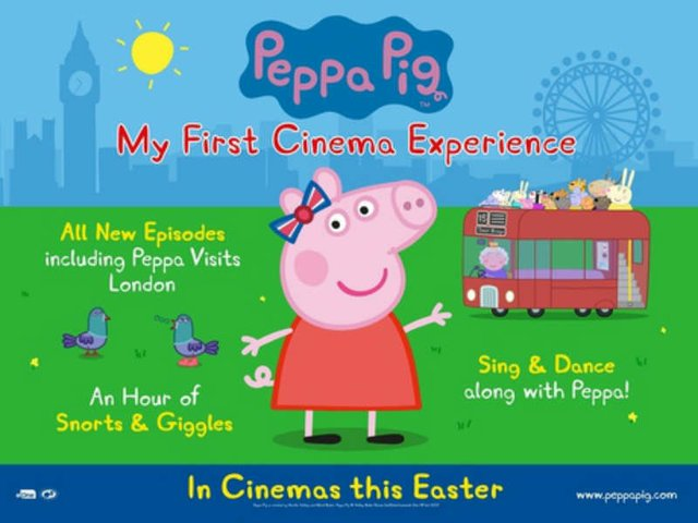 Peppa Pig: My First Cinema Experience (U)