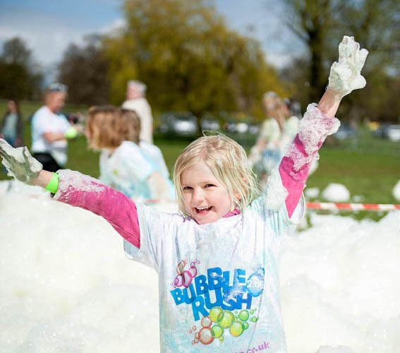 bubble rush paignton 2017