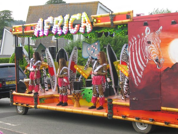 Kingsbridge Fair Week - Africa Float