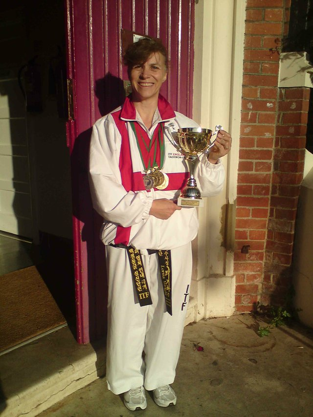 Lorna Wright, World Champion Tae Kwon-Do Practioner