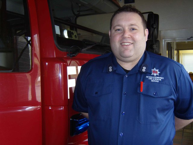 My Job - Marc Cresswell, Dartmouth Fire Station Commander