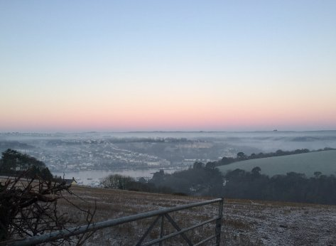 winter walk kingswear