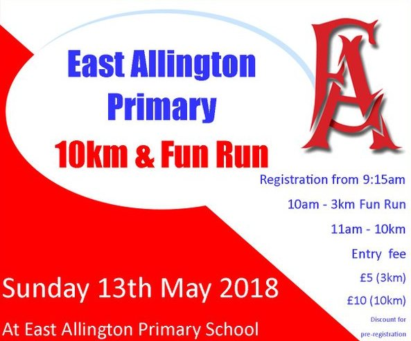 east allington fun run 2018