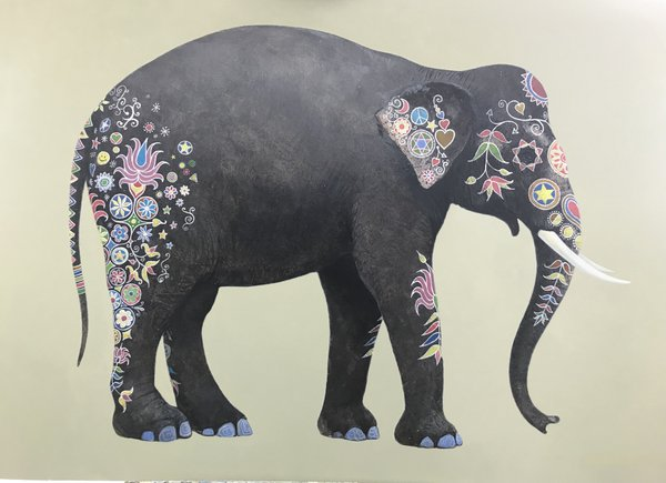 Indian Elephant - James Stewart