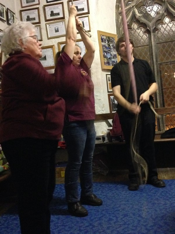 We tried that ... bellringing