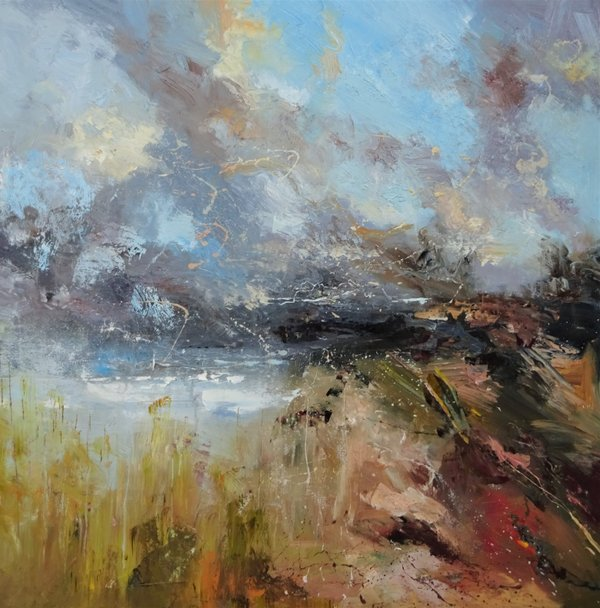 "Claire Wiltsher ""Summer cloud burst"""