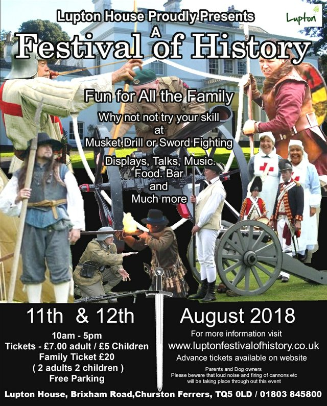 lupton festival of history 2