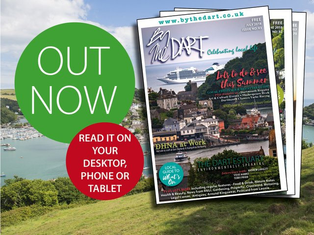 Out Now - July 2018 issue of By the Dart