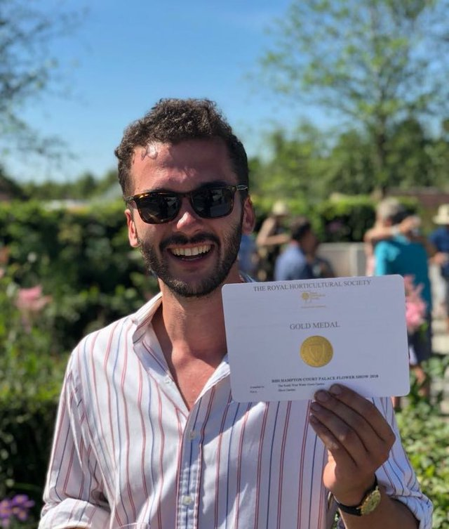 Tom Simpson wins gold at RHS Hampton Court Palace.jpg