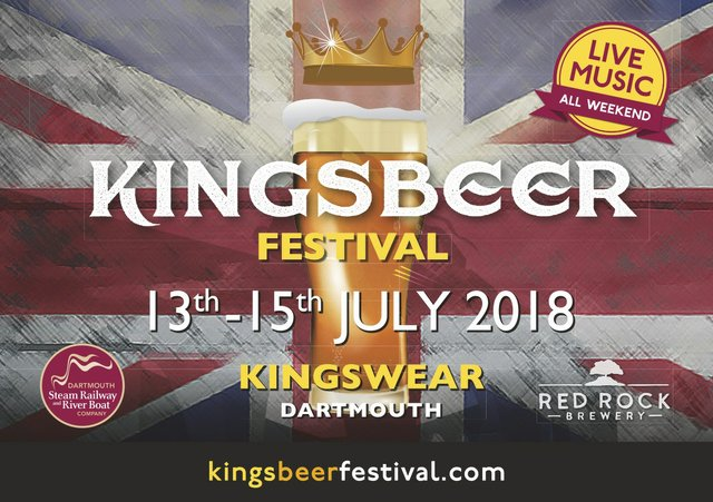 Kingsbeer Festival, Kingswear July 2018