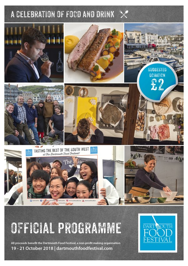 2018 Dartmouth Food Festival programme