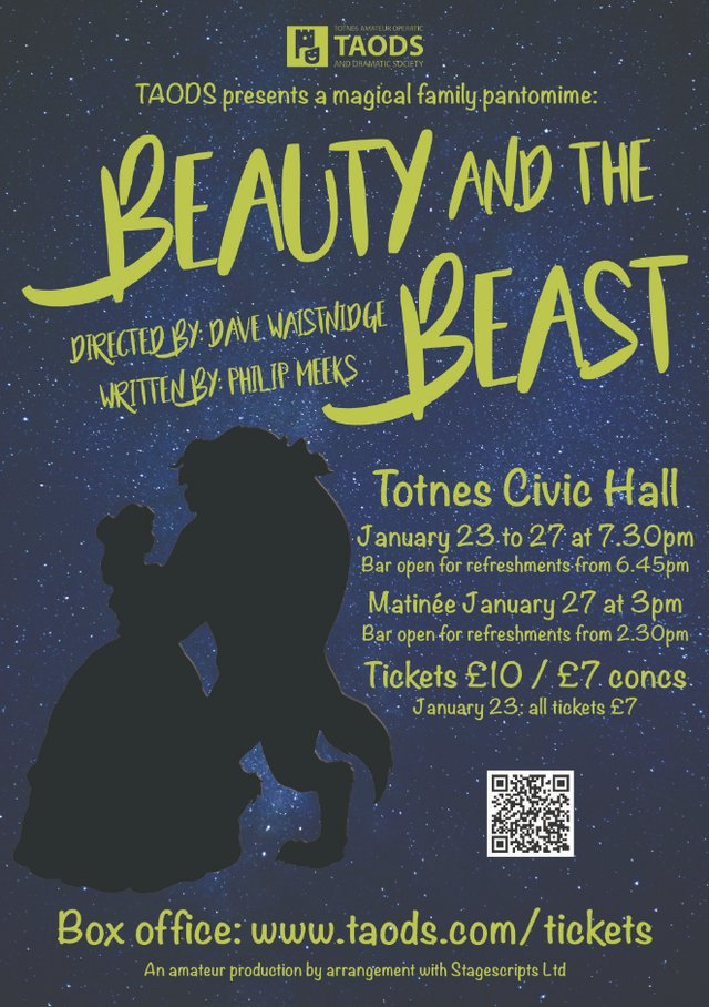 TAODS present Beauty and the Beast