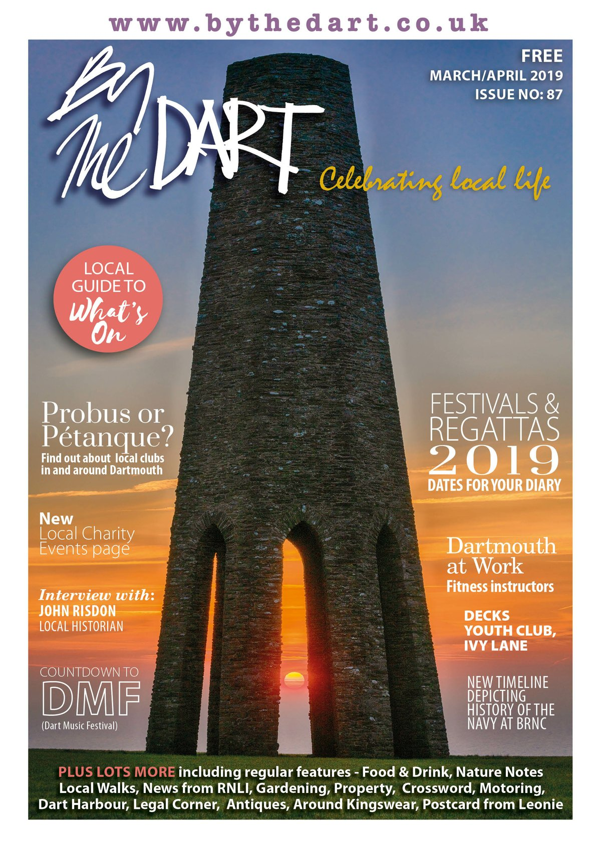 By The Dart March 2019 cover