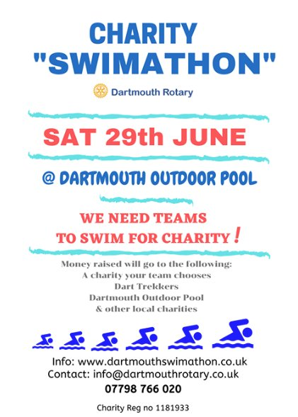 charity swimathon rotary
