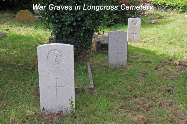 War Graves in Longcross Cemetery.jpg
