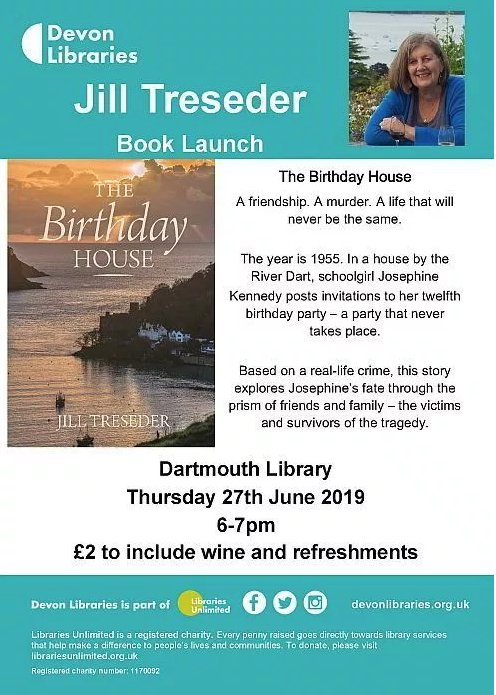 jill treseder book launch