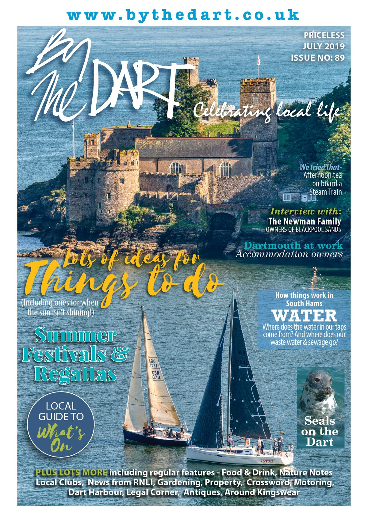 By The Dart July issue