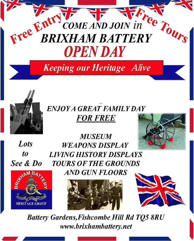 brixham battery open day