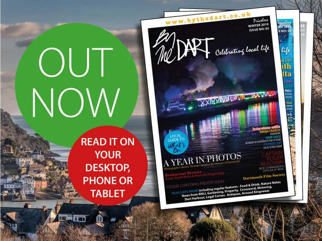 Out Now! Latest issue of By The Dart