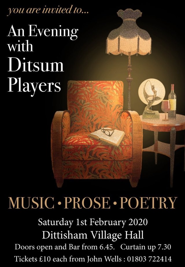 evening with ditsum players