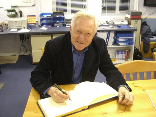 David Dimbleby at RNLI Dart.JPG