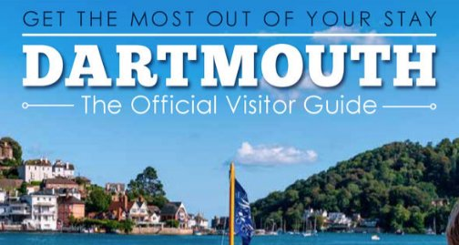 dartmouth visitor guide front cover 2021