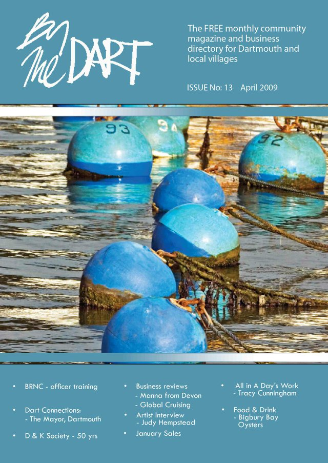 April 2009 By The Dart Front Cover