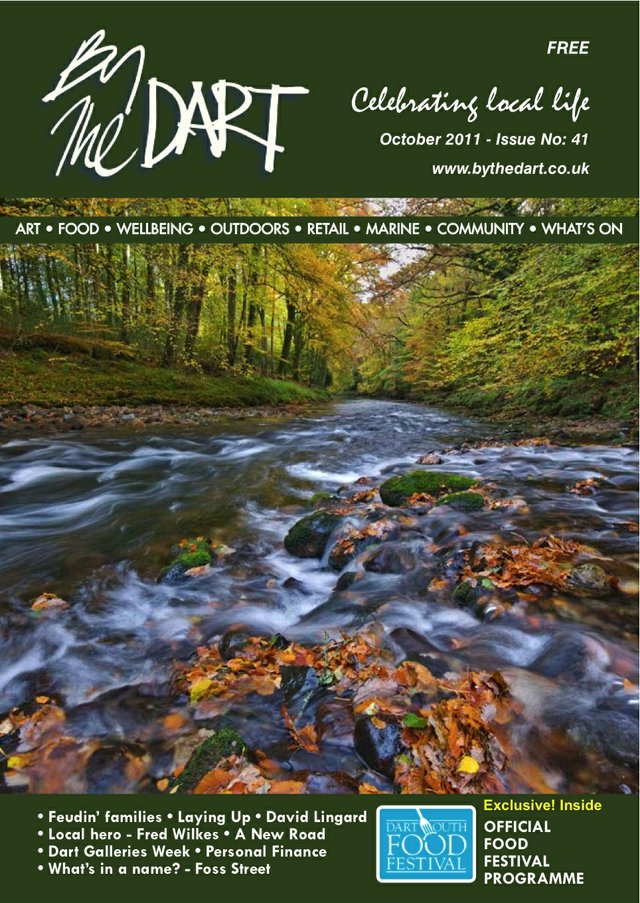 October 2011 The Dart Front Cover