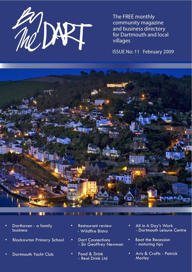 February 2009 The Dart Front Cover