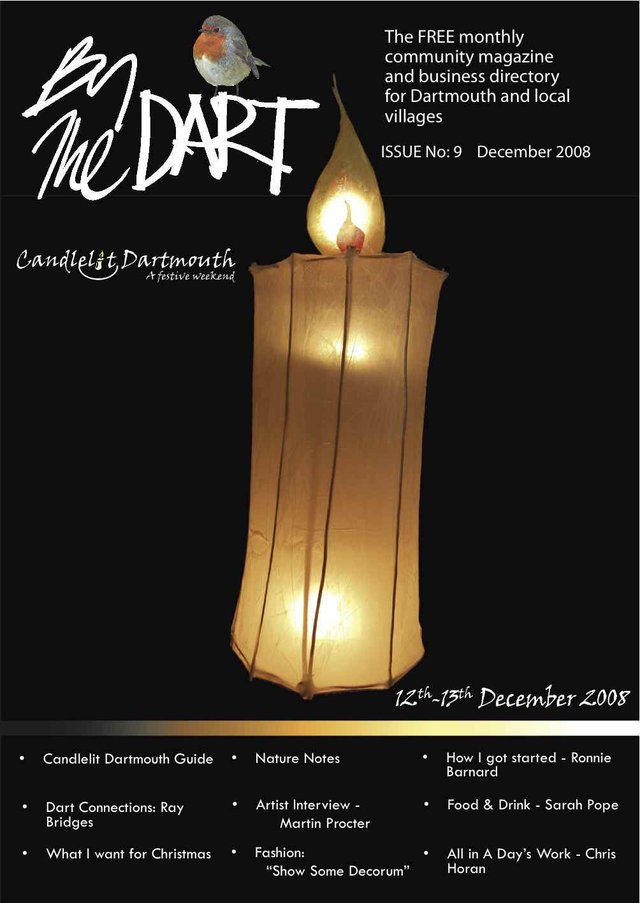 December 2008 By The Dart Front Cover