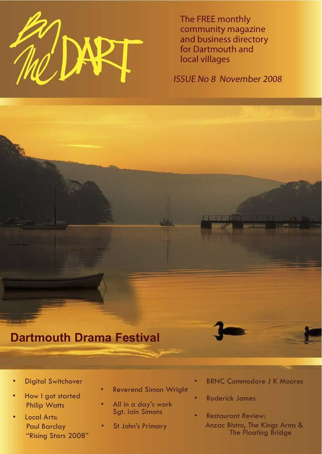 November 2008 By The Dart Front Cover