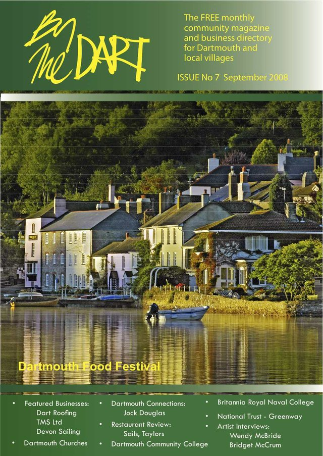 September 2008 By The Dart FRONT COVER