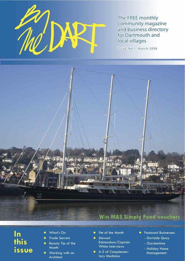 MARCH 2008 BY THE DART FRONT COVER