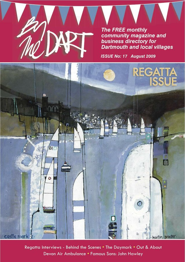 August 2009 By The Dart Front Cover