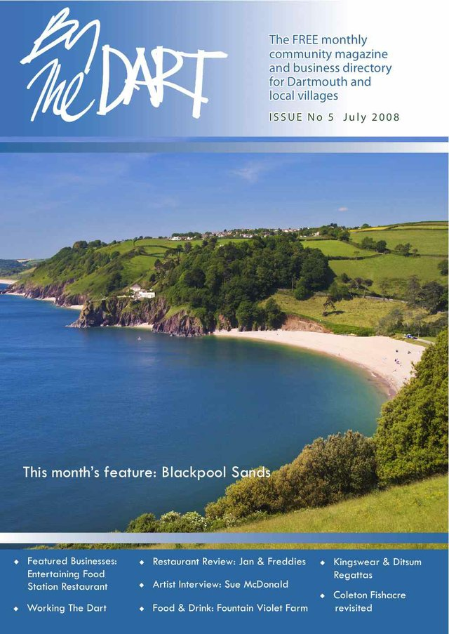 July 2008 By The Dart front cover