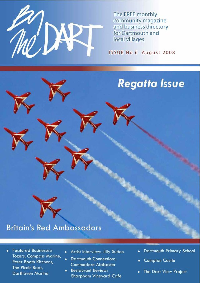 August 2008 The Dart Front Cover