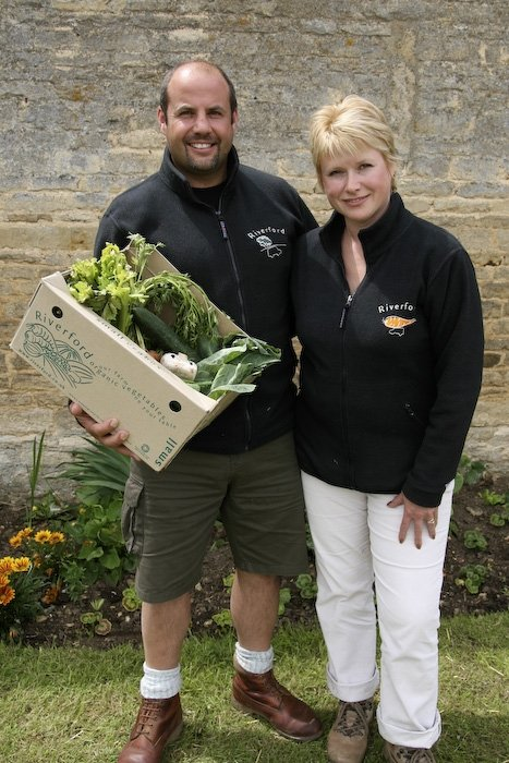 Martin and Jane Emmett, Riverford Vegetables