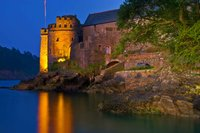Dartmouth Castle At Night