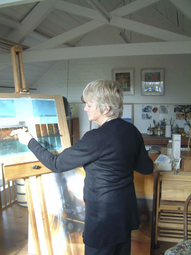 Judy Hempstead, Local Artist