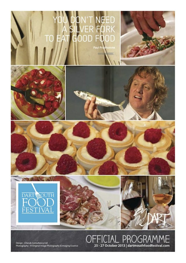 2013 Dartmouth Food Festival Official Programme
