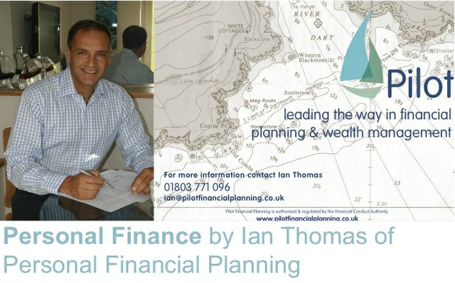 Pilot Financial website header