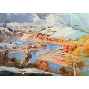 Paul Riley Snowy River from Sharpham