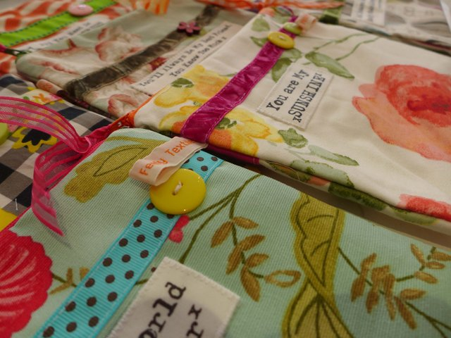 Touchy Feely make up bags @ Baxters Dartmouth
