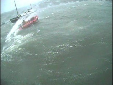 Dart Lifeboat 'Shout' December 23rd 2013